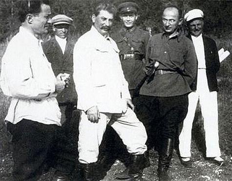 Берия со Сталиным